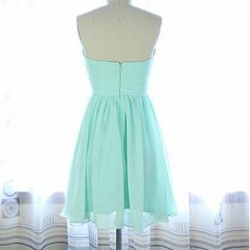Mini Chiffon Cocktail Dress, Party ..